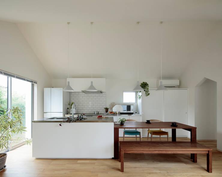 岩松の家: arc-dが手掛けたキッチンです。