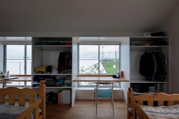 岩松の家: arc-dが手掛けた子供部屋です。