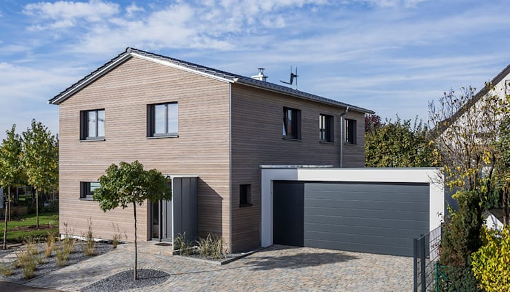 Сборные дома в . Автор – KitzlingerHaus GmbH & Co. KG