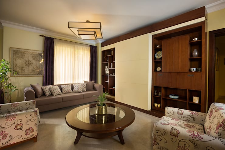 modern Living room by Mazura