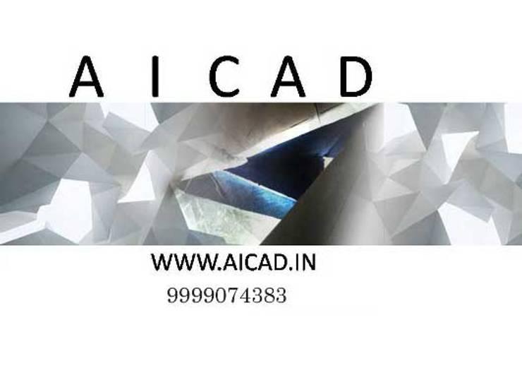 Aicad Studio, Residential Architects in Delhi, South Delhi:  Bungalows by Aicad Studio