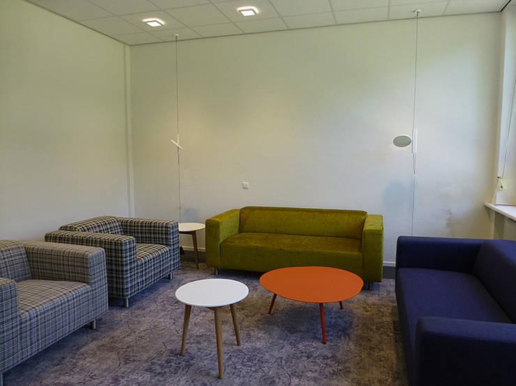 Interieur kantoor Idealis:  Kantoren & winkels door Jan Detz Interieurarchitect