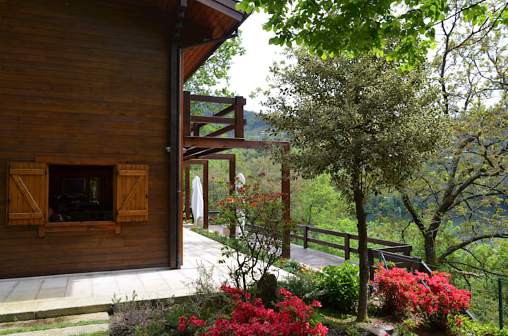 منزل خشبي تنفيذ Rusticasa
