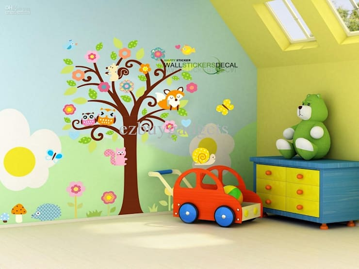 Interiors:  Nursery/kid's room by Dun Interior
