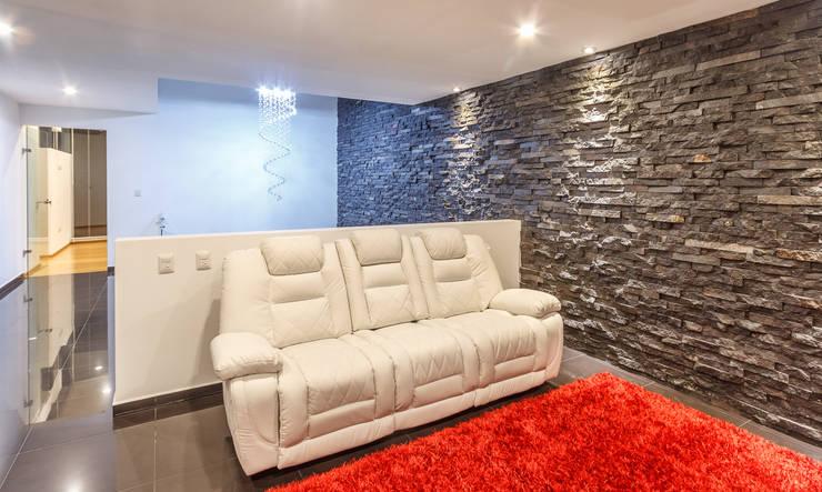 Living room by SANTIAGO PARDO ARQUITECTO, Modern