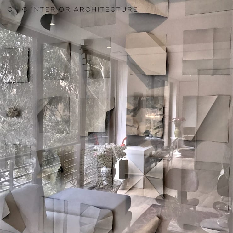 APARTAMENTO ROSALES | Residencial:  de estilo  por C | C INTERIOR ARCHITECTURE , Minimalista