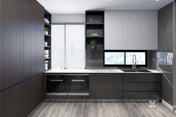 Kitchen units by Reform Architects, Modern