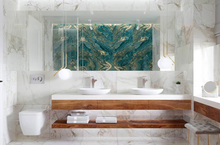 حمام تنفيذ U-Style design studio