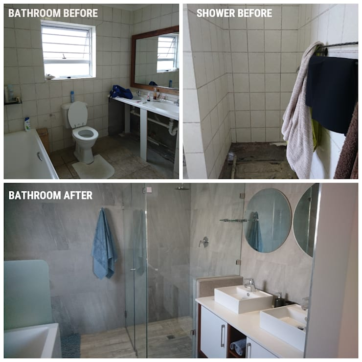 New Master bathroom:   by BEFORE & AFTER DECOR