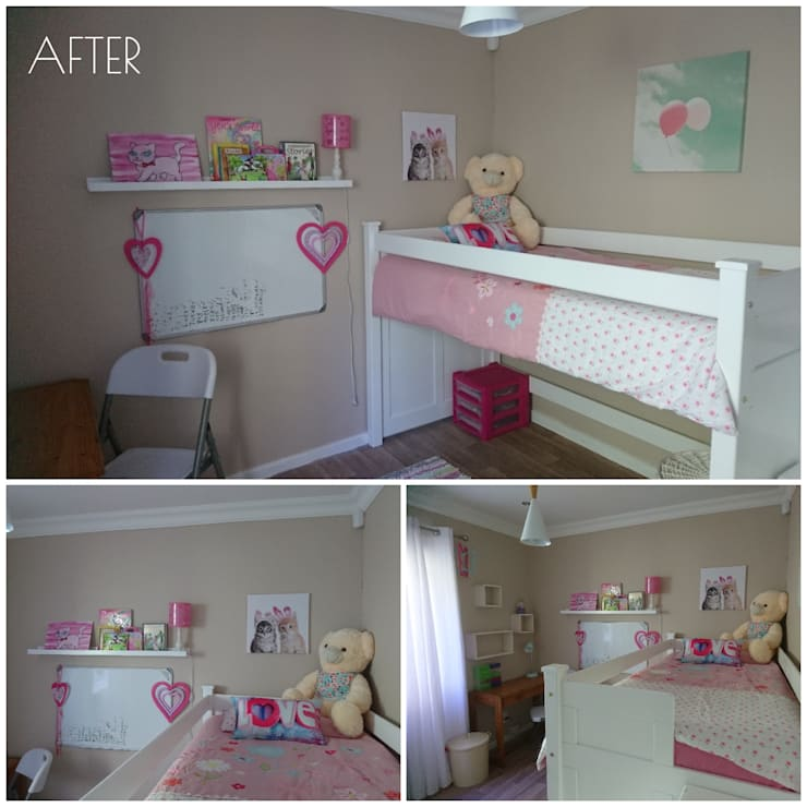 KIDS' BEDROOMS MINI MAKE OVER:   by BEFORE & AFTER DECOR
