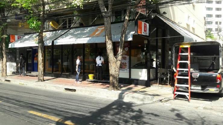 ร้านกาแฟ Thai thy me @ศาลาแดง:   by Y Absolute Co.,Ltd