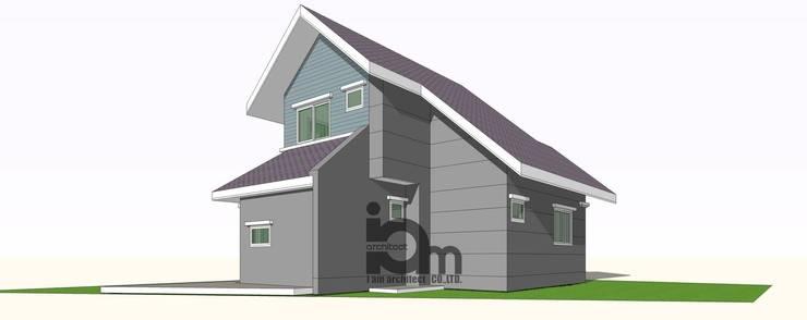 Family house:   by i am architect CO.,Ltd.