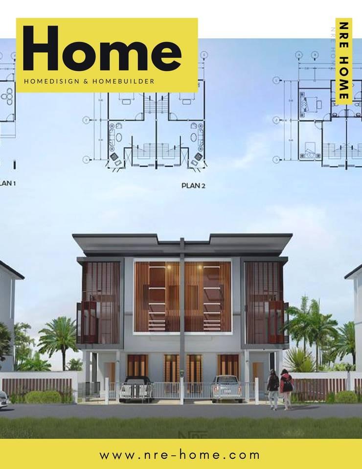 HOME DESIGN:  อาคารสำนักงาน by NRE HOME