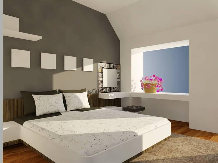 Phòng ngủ chính:   by Cat-Studio