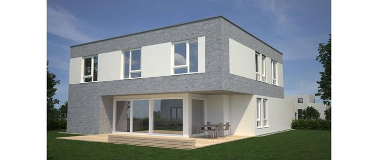 Architektenhaus an der Bergstraße:  Häuser von Karl Kaffenberger Architektur | Einrichtung