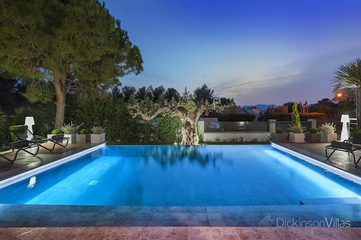 泳池 by Diego Cuttone, arquitectos en Mallorca