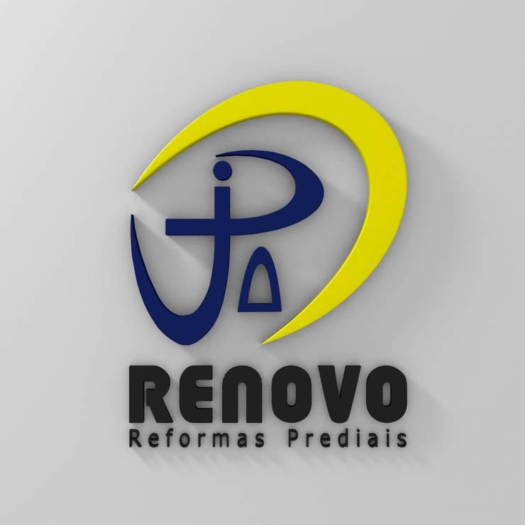 Projekty,  Szkoły zaprojektowane przez Renovo Reformas Retrofit Fachada 3473-2000 em Belo Horizonte, Klasyczny Marmur