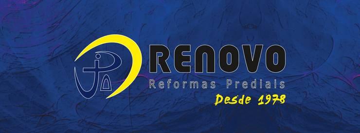 Clinics by Renovo Reformas Retrofit Fachada 3473-2000 em Belo Horizonte, Classic Aluminium/Zinc