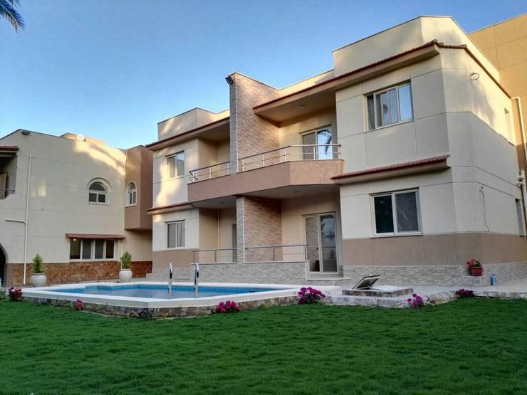واجهة بحرية:  منزل عائلي صغير تنفيذ TRK Architecture,