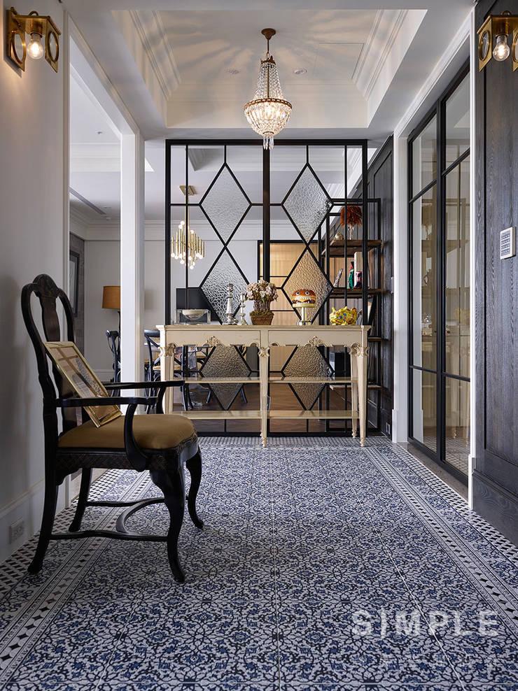 Corridor & hallway by 尚展空間設計