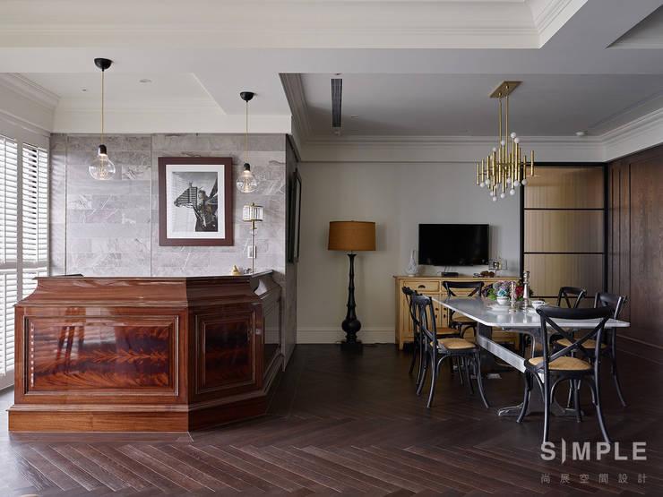 Dining room by 尚展空間設計