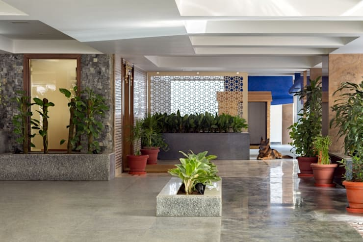 Gujral Residence:  Bungalows by groupDCA,Modern