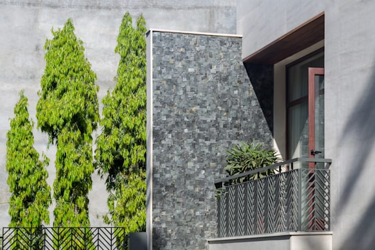 Gujral Residence:  Houses by groupDCA,Modern