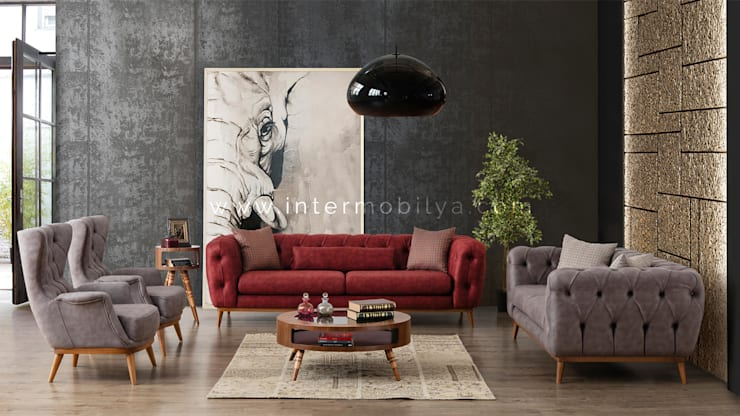 Living room by İnter Mobilya