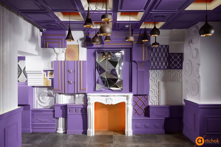 Коммерческие помещения в . Автор – Art-i-Chok, Эклектичный