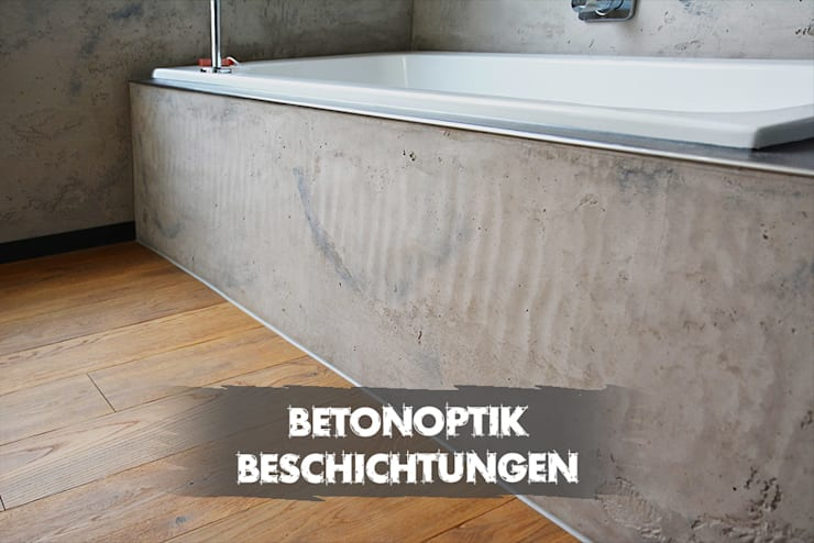 Fugenloses Bad:  Badezimmer von Ulrich holz -Baddesign
