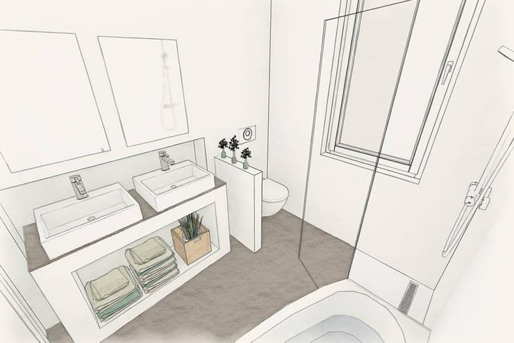 So fängt es manchmal an 3-D Planung:   von Ulrich holz -Baddesign