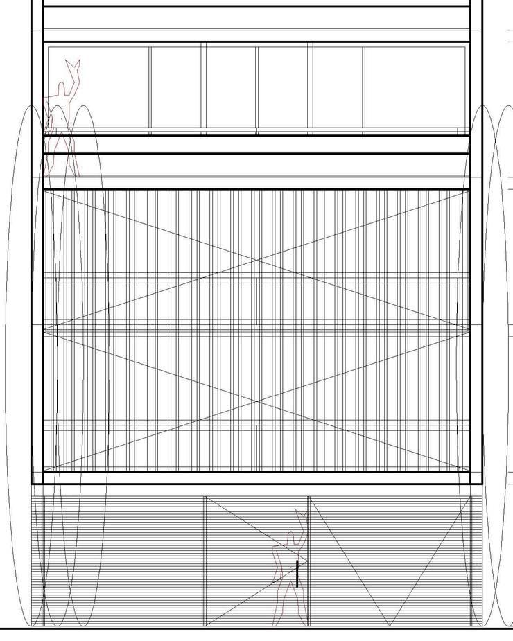 algunos dibujos: Casas multifamiliares de estilo  por 253 ARQUITECTURA