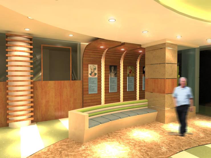 لقطة 4 للمدخل :  مستشفيات تنفيذ Quattro designs , حداثي
