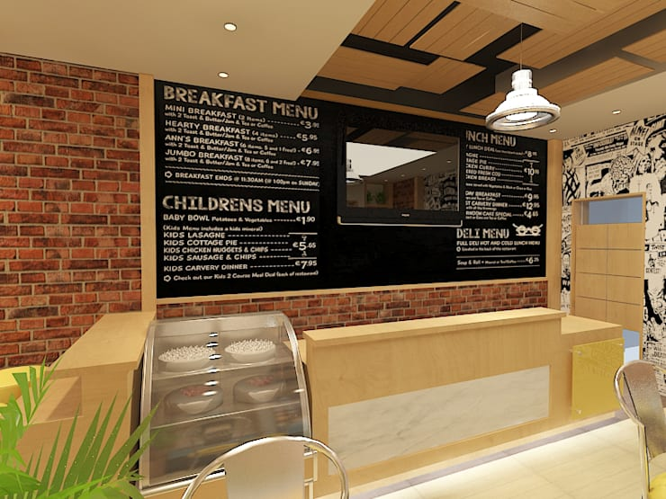 Dolce cafe :  مطاعم تنفيذ Quattro designs