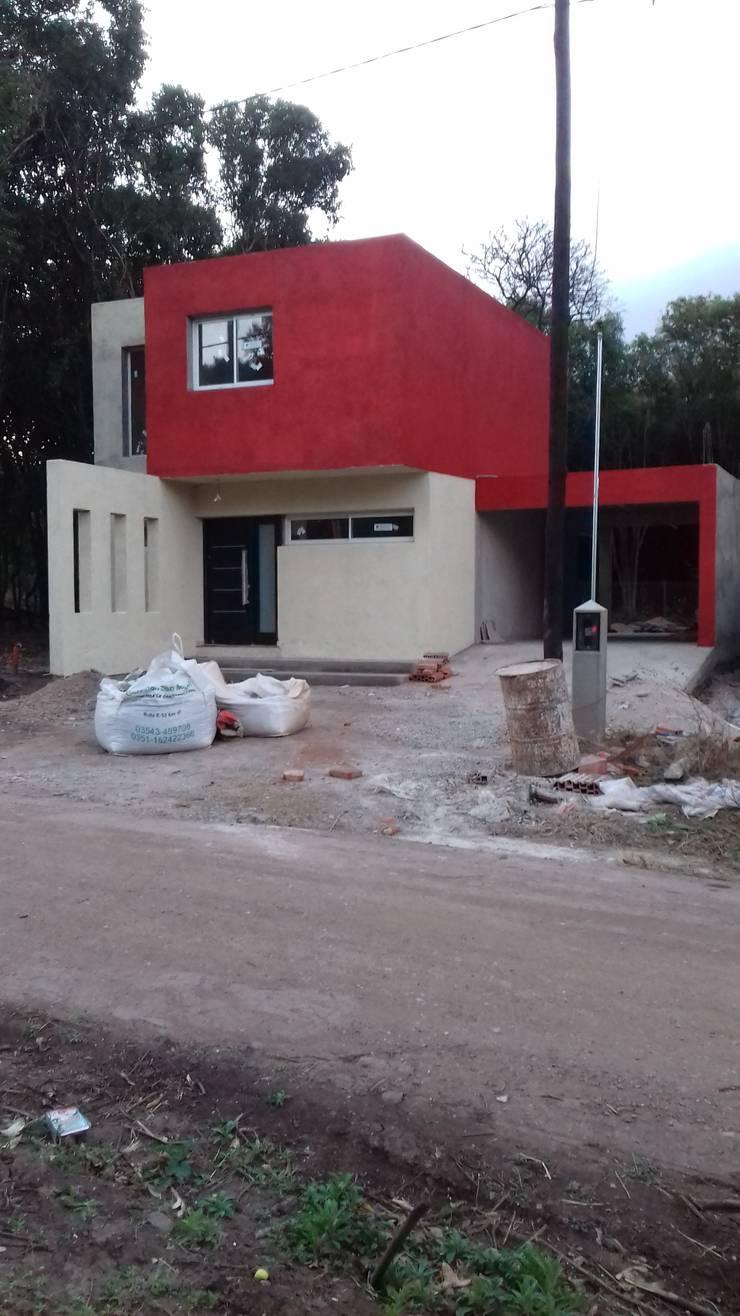 Casa MT: Casas unifamiliares de estilo  por Arq. Gerardo Rodriguez