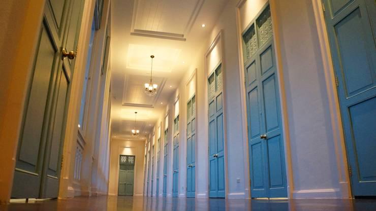 อาคารคีตราชนครินทร์ สถาบันดนตรีกัลยาณิวัฒนา:  ตกแต่งภายใน by A2-Studio