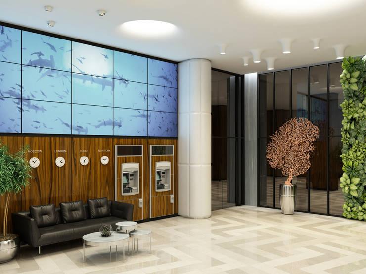 «Time»: Офисные помещения в . Автор – Wide Design Group