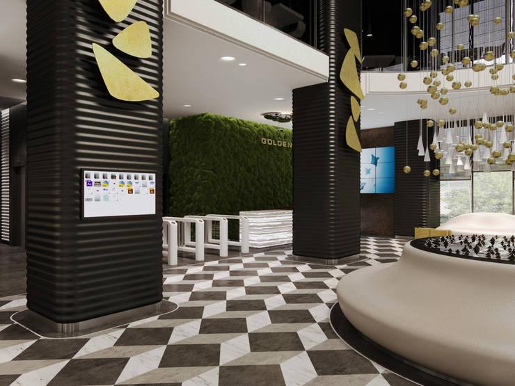 Tòa nhà văn phòng theo Wide Design Group, Tối giản