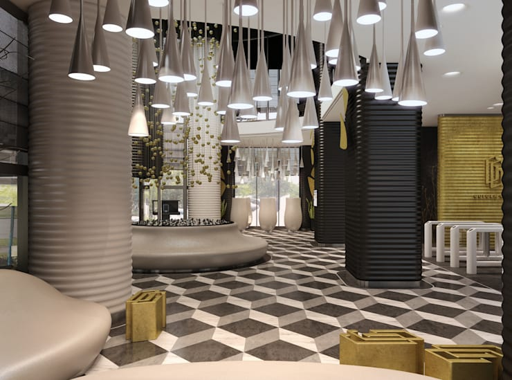 Commercial Spaces by Wide Design Group, Minimalist