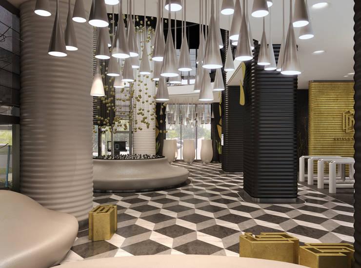 Khu Thương mại theo Wide Design Group, Tối giản