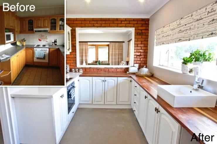 Cocinas de estilo minimalista por Redesign Interiors