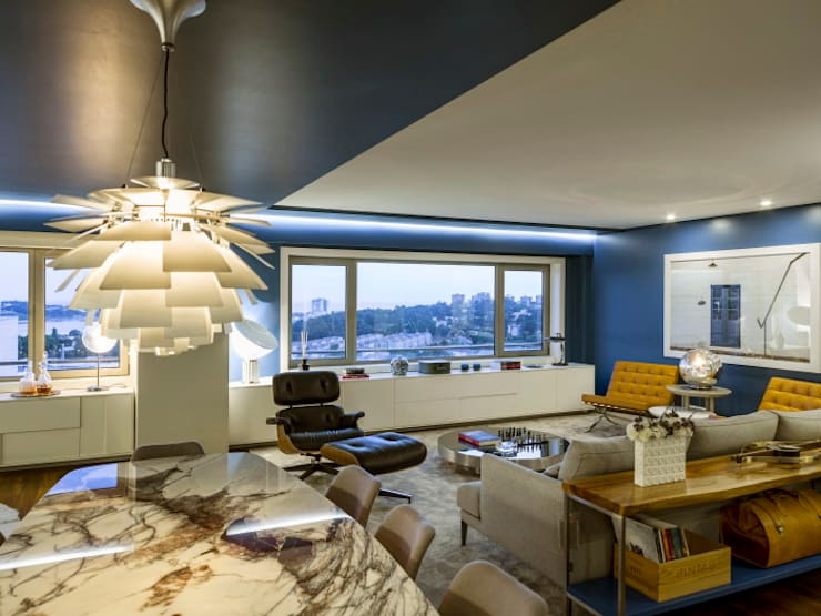 Boavista   2017: Salas de jantar modernas por Susana Camelo
