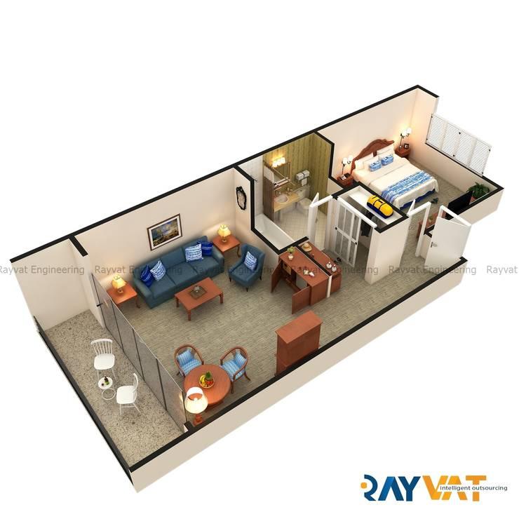 3D Floor Plan Design:   by Rayvat Rendering Studio