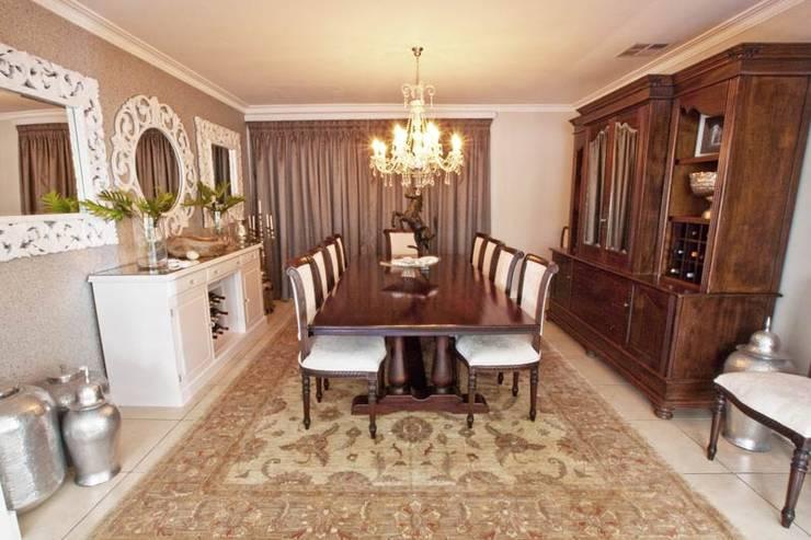 غرفة السفرة تنفيذ Redesign Interiors