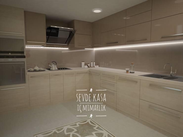 Cocinas a medida  de estilo  por SEVDE KASA İÇ MİMARLIK