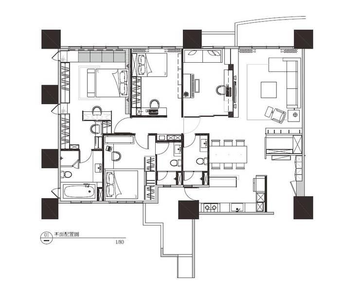 PLAN:   by 見和空間設計