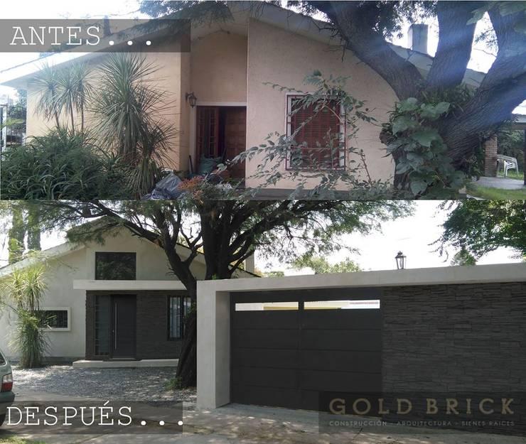 Vivienda PR: Casas de estilo  por Goldbrick arquitectura,