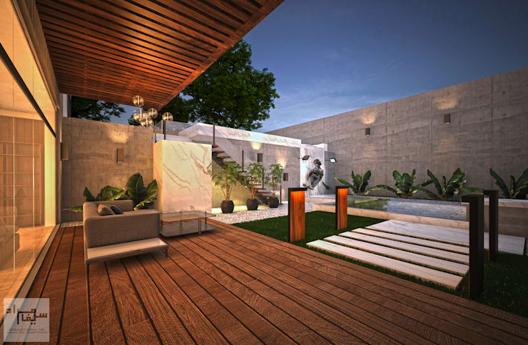 TRIO VILLA :  Villas by Saif Mourad Creations - SMC