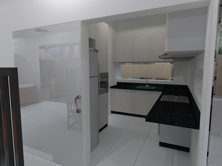 Nhà bếp by João Paulo Gomes Arquitetura