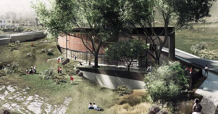 Parque Educativo Tamesis: Casas de estilo  por ARQUITECTOS URBANISTAS A+U, Moderno